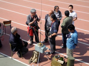 国家无线电监测中心北京站原站长李明讲解测向技术